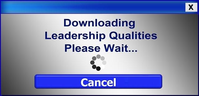 Downloading leadership qualities